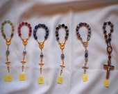 6 New One Decade Rosaries