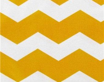 yellow chevron stripe 1 yard