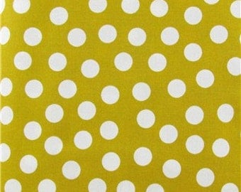 Mustard dot fabric 1 yard