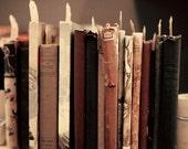 SALE, Book art, book lover, art book, mint dorm decor, book wall art, large art, large wall art, geek gift, hipster gift, rustic decor