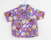 McDonald's POP. baby , toddler button up ,  . NAPKIN