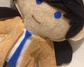 mini mi - castiel supernatural doll