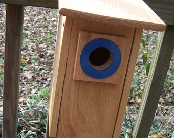 Blue Bird House  Nesting Box