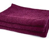 Absorbent Placenta Wrapping Cloth - Crimson Cotton - 3 pack - also Newborn Nappies