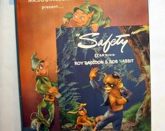 Safety, starring Roy Raccoon & Rob Rabbit, 1943 book