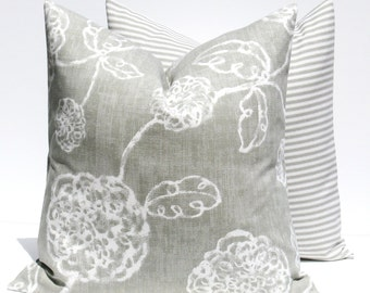 Decorative Pillows - throw Pillow Covers - gray Pillow - Gray Pillow covers - Pillows - Accent Pillow - Throw Pillows - Cushion covers