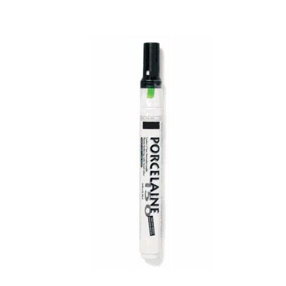 2 ceramic black paint pens for signature guestbook platters for Enamel paint pens for glass