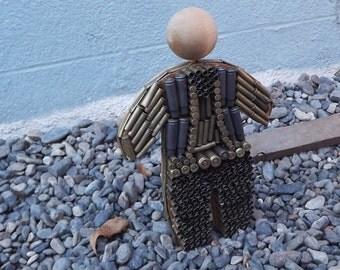 3 D Gun Shell Casing  Art Doll
