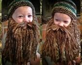Duck Dynasty Crochet Hat & Beard PATTERN **PDF**  All sizes!!!