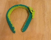st. paddy's head band with clover (lucky)