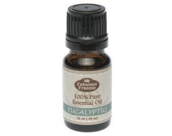 Eucalyptus 100% Pure Therapeutic Grade Essential Oil 10 ml