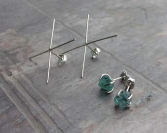 Handmade Sterling Silver 20ga Claw Post Earring Blanks - MADE TO ORDER