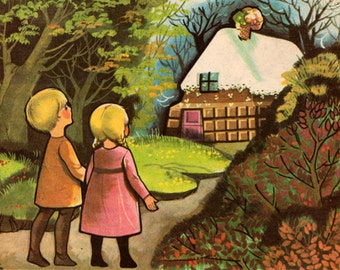 vintage copy of Hansel and Gretel: A Story by the Brothers Grimm