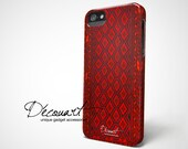 Red carpet iPhone 5 case, iPhone 5s case, iPhone 4 case, orchid brick raspberry carpet pattern S075, christmas gift