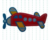 Airplane Iron on applique Patch - Kids