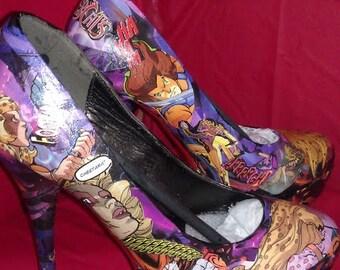 ThunderCats Custom Comic Heels