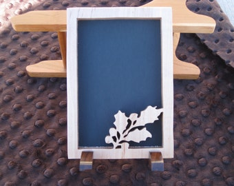 Simple Christmas Picture Frame Made From Maple And Walnut