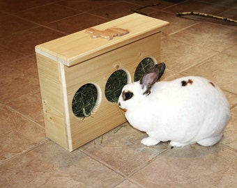 Slim Fit Bunny Rabbit Hay Feeder