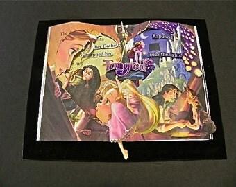 Altered Book Tangled Book Sculpture