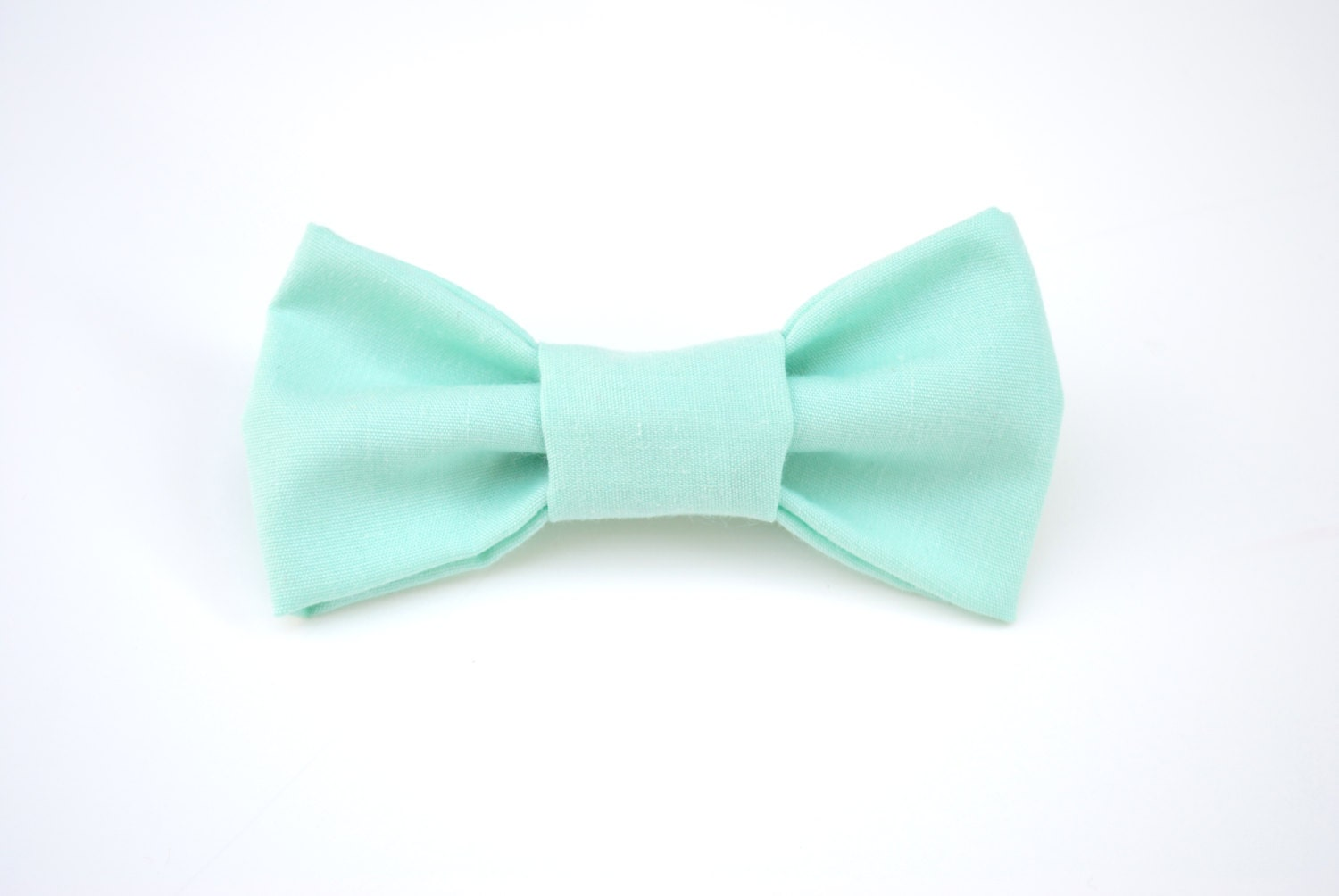 bow tie turquoise bow tie mint bow tie by thebloomingfigtree