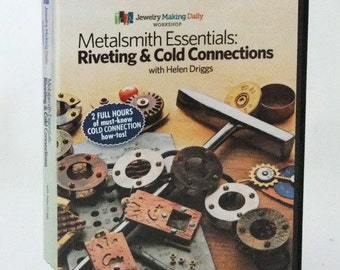 Metalsmith Essentials: Riveting And Cold Connections Instructional DVD  2 Disc Set  SALE