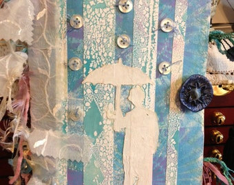 Handmade Paper Journal-rain man