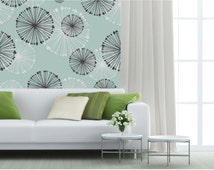 Vinyl wallpaper. Self-adhesive vinyl wallpaper. Removable wallpaper. Customizable colors