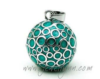 Bubble Mexican Bola 20mm. Colour Enamel