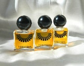 3 Rare BLOOMIE'S Perfume Minis - from Bloomingdales, 1973 - .13 oz (4 ml) - Mint - Never Used