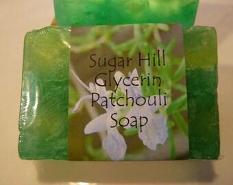 Sugar Hill Patchouli Glycerin Soap