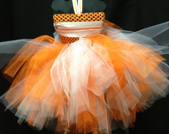 Orange and White Tailgate Outfit