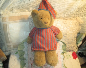 RESERVED Teddy Bear, Come Dream with Me Teddy Bear, Vintage Avon Teddy Bear, Vintage Teddy Bear, Musical Teddy Bear, Vintage Stuffed Bear,