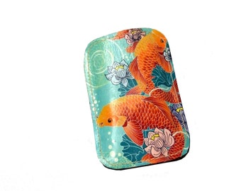 Printed Leather Phone Sleeve- Custom made to fit any phone