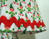 Girl's Christmas Dress: Size 3T, Elf Holiday Dress, Elves, Peasant Dress