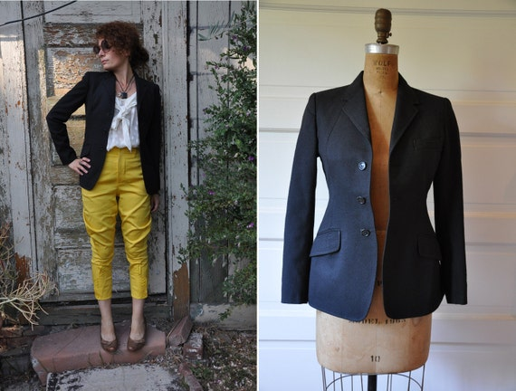 equestrian jacket vintage apparel made in by