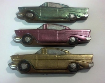 Classic Car Chocolate Party Favors