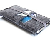iPhone 7 case, iPhone 7 Plus Sleeve, iPhone 6S Case, iPhone 6s Plus Sleeve, Samsung, Nexus. HTC, One+One- Elastic- All Charcoal Grey