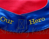 Add an Embroidered Message to your Cape's Enclosure
