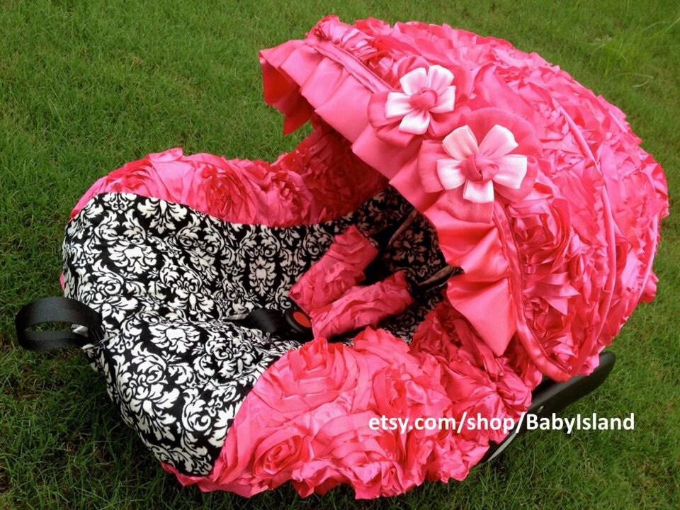 Baby Girl Infant Car Seats: 45%off Baby Car Seat Cover Canopy Infant Car Seat Cover