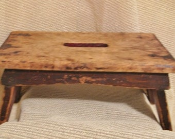 Early Primitive Cricket Stool