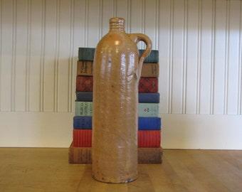 Stoneware German Seltzer Water Jug, Water Jug, Stoneware Jug, Water Bottle, Stoneware Bottle, Herzogthum Nassau Seltzer