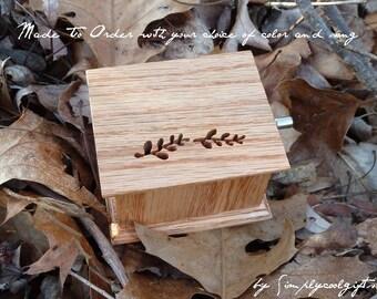 music box, musicbox, music boxes, personalized music box, wood music box, custom music box, musicbox, holiday gift idea