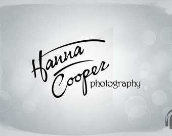 Premade Logo and Watermark for Photographers...Premade logo design