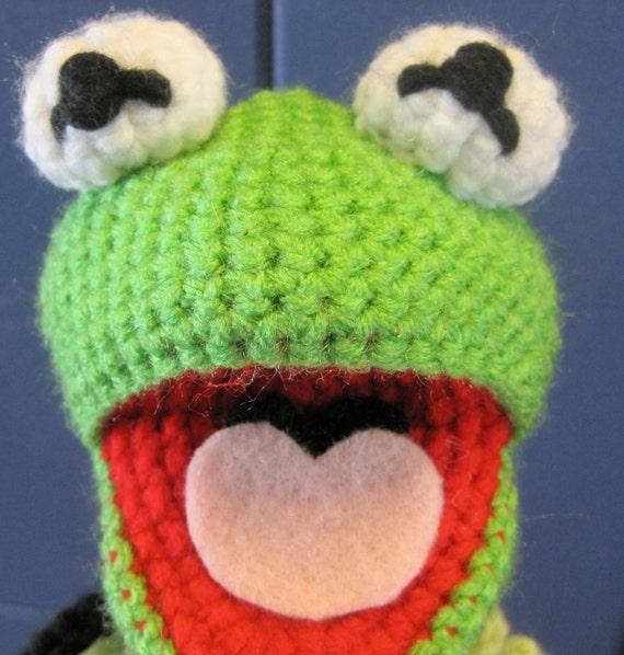 Kermit The Frog Inspired Amigurumi Crochet Pattern From