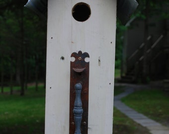 Antique Screen Door Handle birdhouse