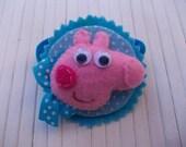 hair ornament for  PEPA PIG