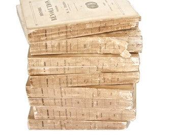 Antique French History Books (1846)