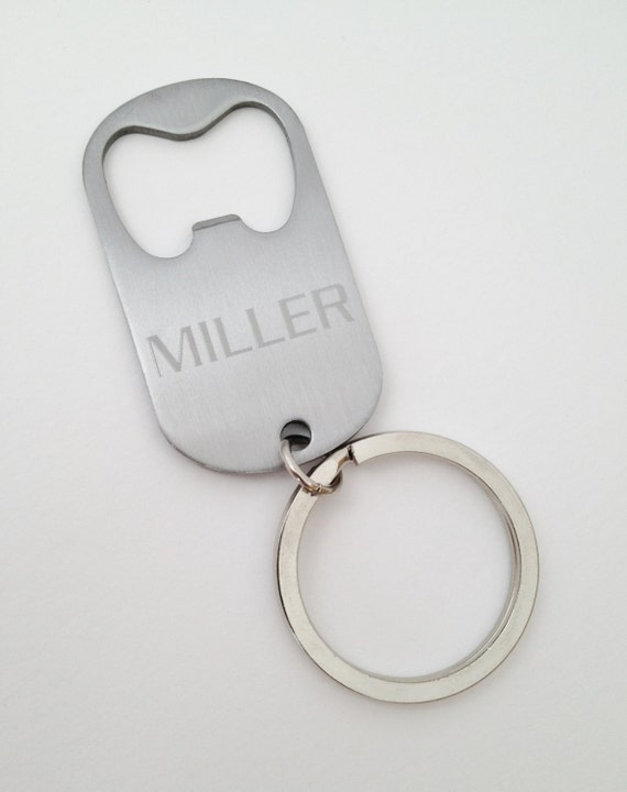 groomsmen gift keychain bottle opener engraved personalized. Black Bedroom Furniture Sets. Home Design Ideas