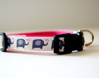 Elephant Dog Collar Adjustable Sizes (XS, S, M)