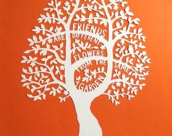 SVG Friends Tree
